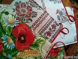 Фартуки, прихватки в украинском стиле, хлопок - фото 2
