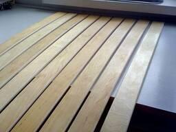 Lamella, veneer, wooden block, finger joint, blockport - photo 8