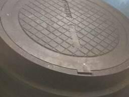 Люк полимерпесчаный