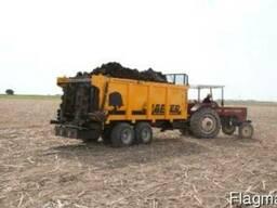 Навозоразбрасыватель органических удобрений X10 (10 тонн) - фото 3