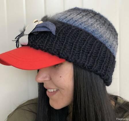 Оптом шапки handmade