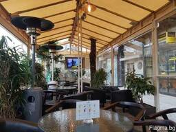 Работающее кафе в самом центре Софии