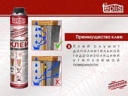 Строительный клей для теплоизоляции Teplis Spiderweb 1000мл - фото 8