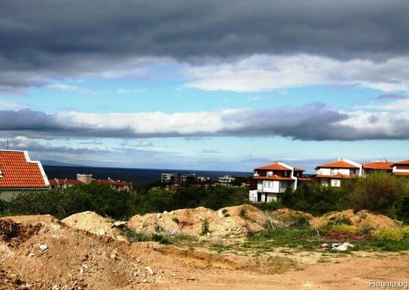Участок на берегу моря в Болгарии