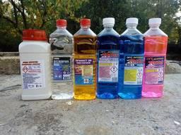 Антифриз, течност за чистачки, сода каустик, водно стъкло и др. Лабораторни реактиви