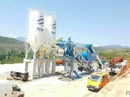 Мобильный бетонный завод М-100 sng Promax