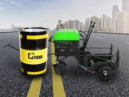 Гудронатор пръскачка асфалтова 200 л за инсталация в тялото или ремарке