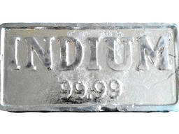 Индий в прасе | метал индий марка InOO GOST 10297-94