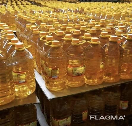 Масло подсолнечное ПЭТ бутылки
