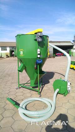 Миникомбикормовый завод 500 кг 7,5 кВт