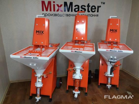 MixMaster220v,220v-380v производство штукатурных станций