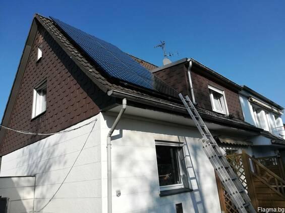 Монтаж на соларни модули