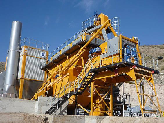 Нов мобилен завод за асфалт PARKER RoadStar 3000 (производителност - 240 т. ч. )