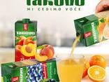 Плодови сокове 50%, 100% съдържание на плодове - фото 1