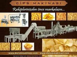Оборудование для производства чипсов из Турции