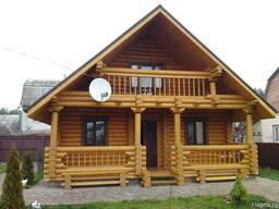 Строительство деревянных домов из бревна и бруса. - photo 5